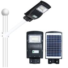 Farola solar todo en uno IP65 para exteriores