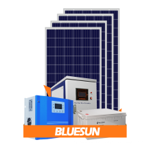 Bluesun 10Kw 15Kw 20Kw 25Kw 30Kw Off Grid Hybrid Solar Energy System Home Off Grid Complete