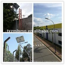 Pólo claro de rua solar da energia das energias solares da luz de rua 120w