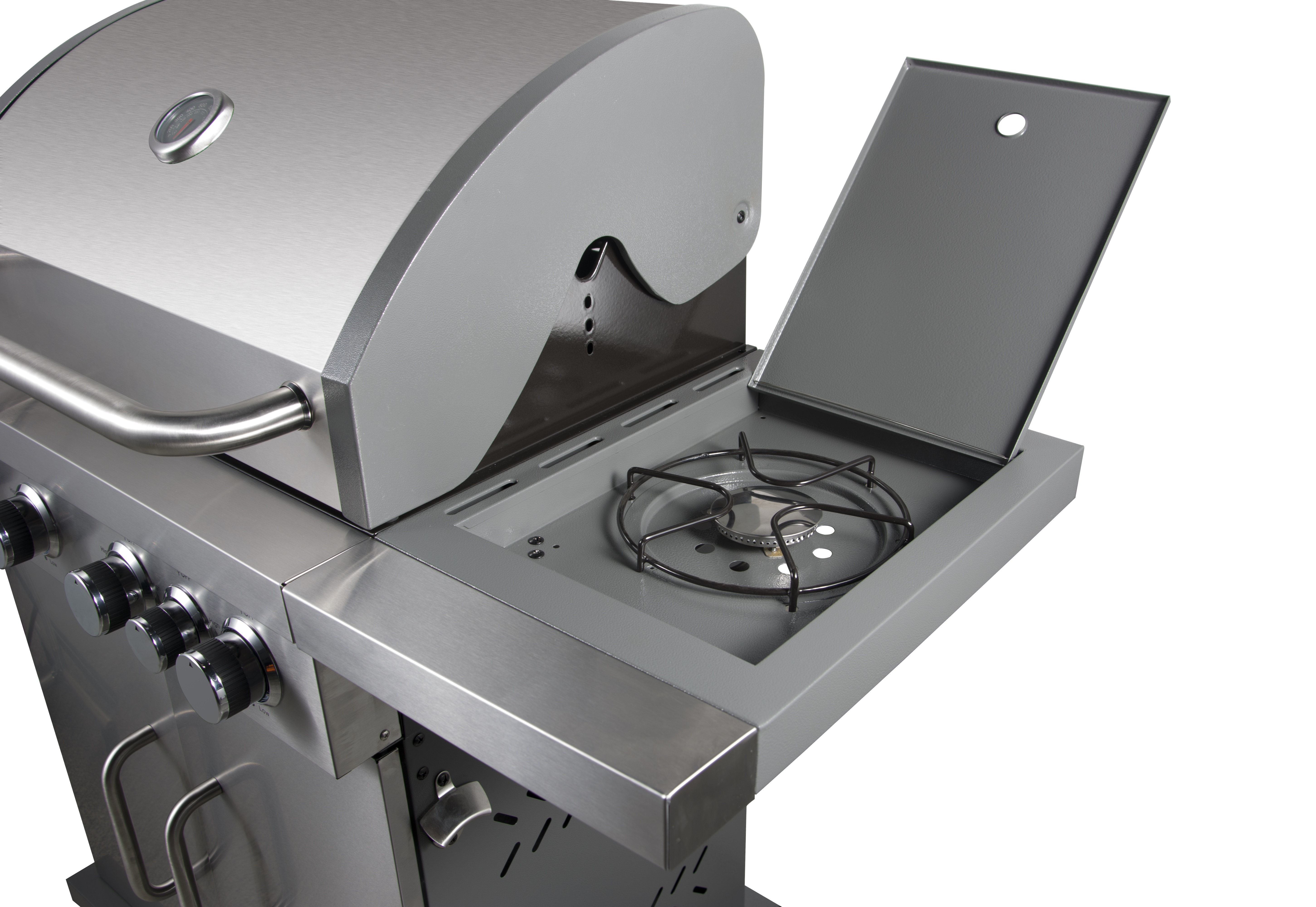 Gas Garden Grill with Cobinet