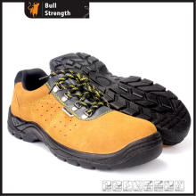 Industrial Cow Suede Leather Safety Shoes with Ce Standard (HQ2003)