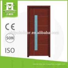10% de descuento en China pintando modernos diseños de puertas de madera
