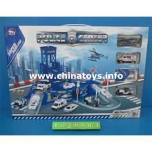 Mais quentes crianças brinquedos de estacionamento plástico set (1029801)