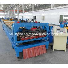 Máquina formadora de tejas galvanizadas de acero
