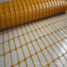 Clôture de neige en plastique coloré d'usine de la Chine