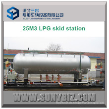 25 Kubikmeter LPG Dispenser Filler Skid Station