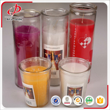 Lilin Votive Flameless Besar di Jar Glass