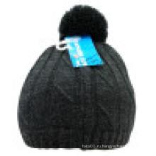 Трикотажная шапочка с POM POM NTD39
