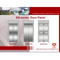 Türverkleidung aus Edelstahl für Aufzug (SN-DP-301)