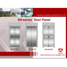 Painel de porta de aço inoxidável para elevador (SN-DP-301)