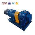 High viscosity impeller pump pulley drive