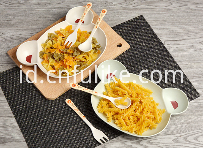 3 Pieces Tableware