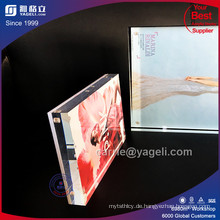 China Hersteller Custom 8 X 10 Acryl Bilderrahmen zum Verkauf