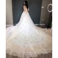 Robe de mariée de luxe or robe de mariée 2018