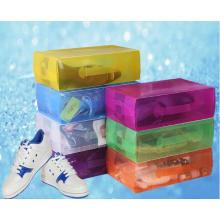 China caixa de plástico para sapatos (caixa de sapato de PVC)