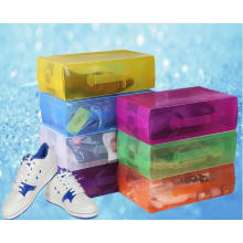 China Plastic Box for Shoes (PVC shoe box)