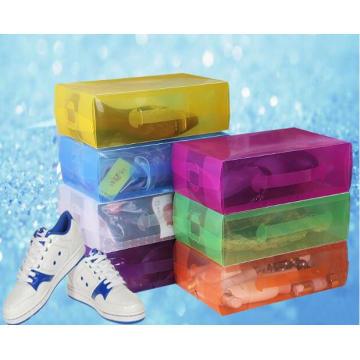 Китай Пластиковая коробка для обуви (коробка для обуви из ПВХ)