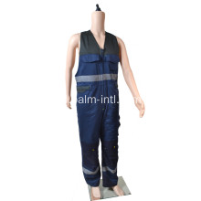Polyester / Cotton tanpa lengan Winter Coverall