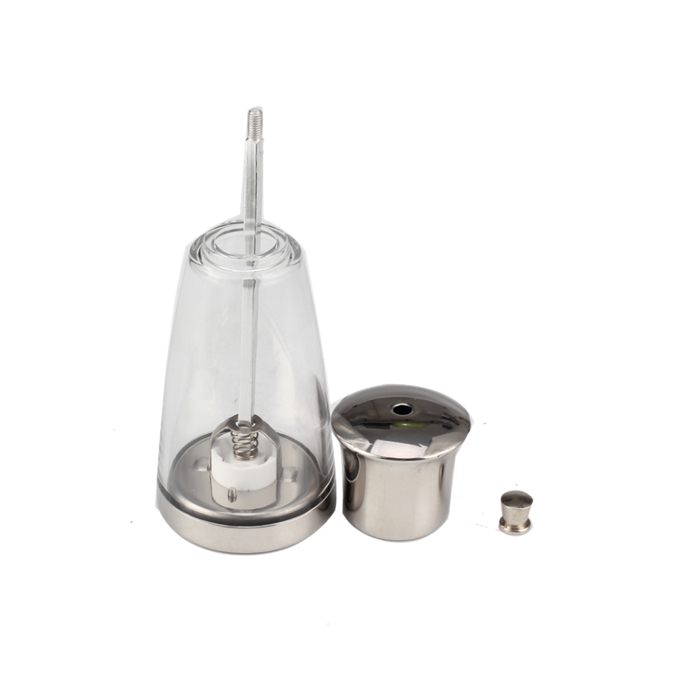Newdesign Glass Andstainless Steel Salt Shakerset