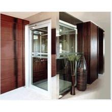 Pequeño ascensor de casa con pequeña máquina de sala de grabado de acero inoxidable