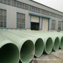 2017 Mais Quente de Vendas FRP / GRP Fibra De Vidro Composto de Resina Epóxi Poliéster Tratamento de Água Tubulação