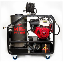 With HONDA powered stream washer cleaner with 12V start