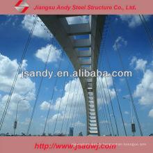 Structure de cadre spatial Structure en acier Pont Steel Trestle