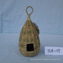 Weaving  Sea Grass Bird House