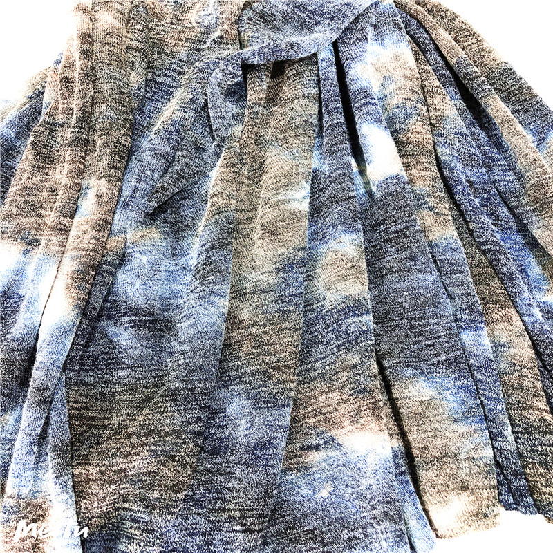 high quality hacci tie dyed