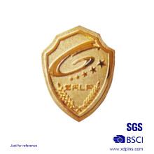 Metal Shield Shaped Sheriff Badge Logo Pin Badge for Sale