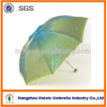 Dame de qualité à la mode 3 pliage parapluie