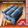 Modificado para requisitos particulares de la compañía gris bolsa de plástico