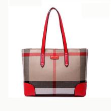 Zexin tamaño grande bolso de cuero Designer bolso 2017 bolsa de compras de moda Wzx1075