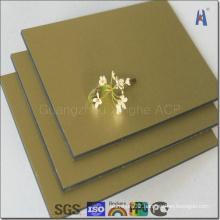 Light Weight Mirror Aluminum Composite Panel for Decorative Cladding (XH005)
