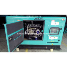 for Sale Factory Price Guangzhou Manufacture 25kVA Diesel Power Silent Electric Generator Set Genset