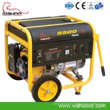 4kw4.5kw 3-Phase ouverte Air refroidi à l'air ouvert générateur diesel portatif (WK5500)