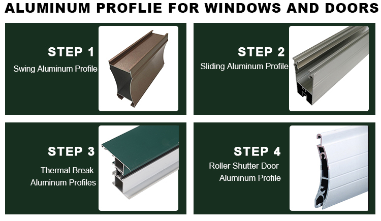 aluminum profile door and window