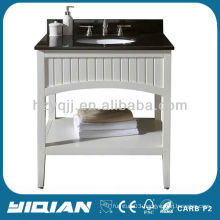 hotel/project chinese vanity free standing modern wood bathroom furniture