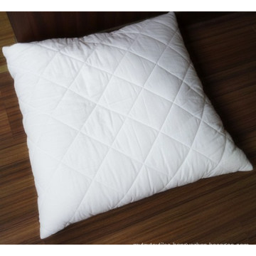 Quilted Pillow and Pillow Shell in Cotton Fabric