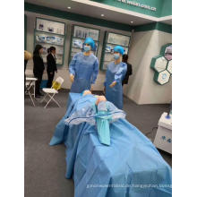 Einweg-sterile chirurgische Knie-Arthroskopie-Abdecktuchpackung