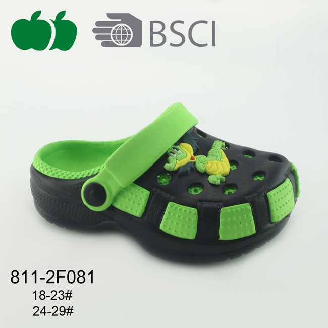 Popular Latest Soft Cute Kids Garden Clogs