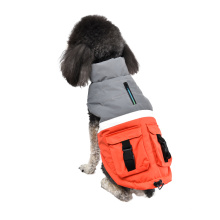 Red Blue Green Outdoor Clothes Soft Reflective Strip Fashion Brand Pet Dog Clothes