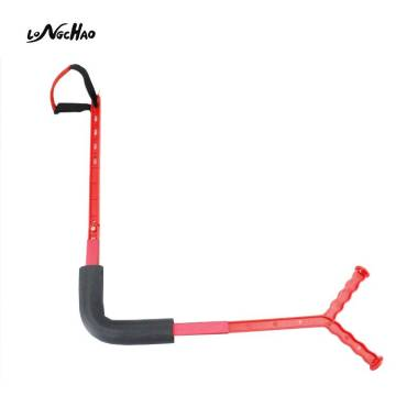 Vendite calde Amazon Direct Factory Golf Swing Training Aid Foldable Practice Golf Swing Trainer Aid for Beginner
