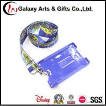 Краска сублимации шеи талреп с держатель пластиковой карты ID