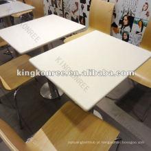 KKR real solild superfície mesa de café fantasia