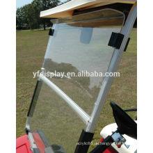 Golf Cart Windschutzscheibe klar mit Folding Acryl 2008 - Up
