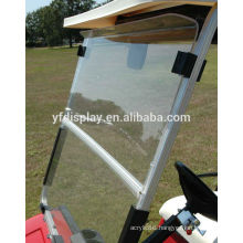 Golf Cart Windshield Clear with Folding Acrylic 2008 - Up