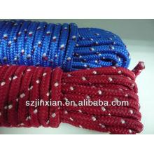 12 mm pp cuerda trenzada de color azul