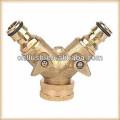2 ways Brass garden hose valves