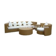 Напольная софа мебели ротанга эффект